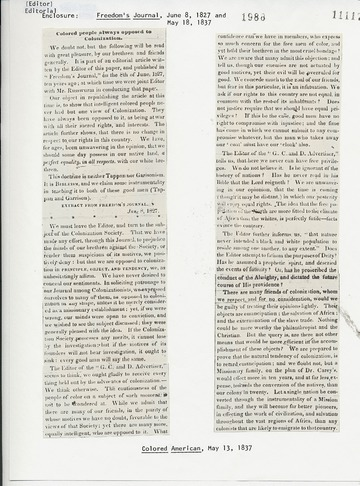 Colored American - May 13, 1837
