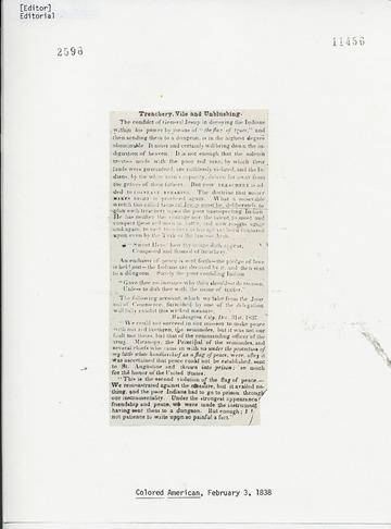 Colored American - February 3, 1838