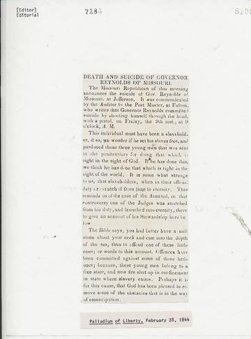 Palladium of Liberty - February 28, 1844
