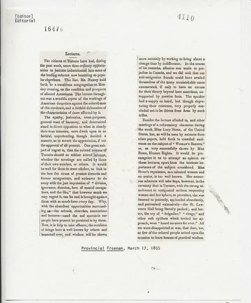 Provincial Freeman - March 17, 1855