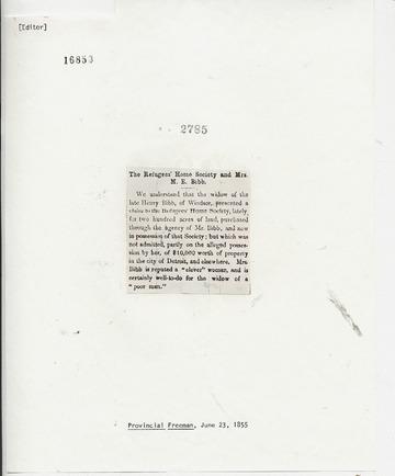 Provincial Freeman - June 23, 1855