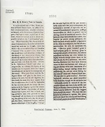 Provincial Freeman - June 7, 1856