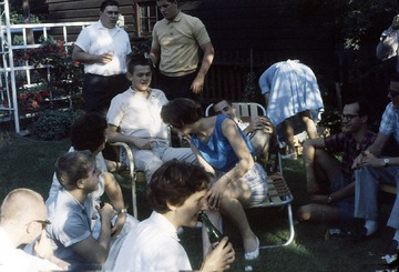 University of Detroit Chorus Collection: Picnic at Don Large's Home