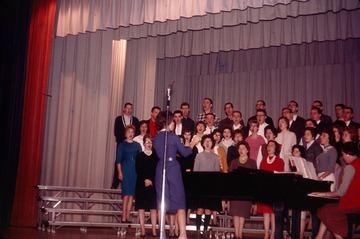 University of Detroit Chorus Collection: Rehearsal - 1961