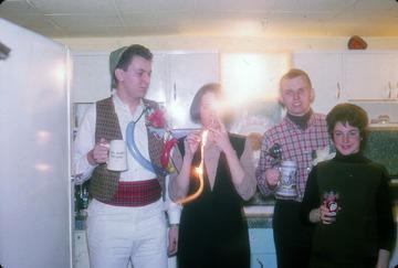 University of Detroit Chorus Collection: Chorus Party 1964