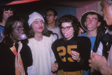 University of Detroit Chorus Collection: Halloween at Doughty's 1965