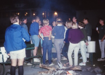 University of Detroit Chorus Collection: Campfire