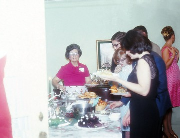 University of Detroit Chorus Collection: Christmas Party - 1967