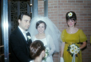 University of Detroit Chorus Collection: Cora and Jerry's Wedding - 1967