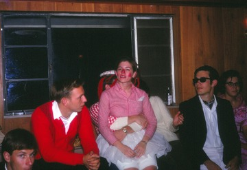 University of Detroit Chorus Collection: Halloween at Ivory Farms - 1968