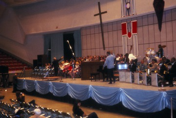 University of Detroit Chorus Collection: Duke Ellington Concert Rehearsal - 1969