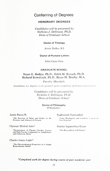 95th Annual Commencement Exercises May 13, 1978 University of De
