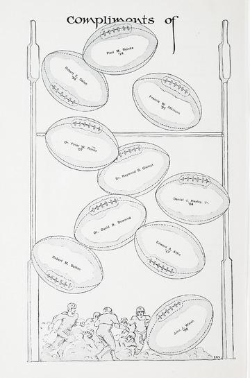 University of Detroit Football Collection: University of Detroit vs. Vermont Thanksgiving Program
