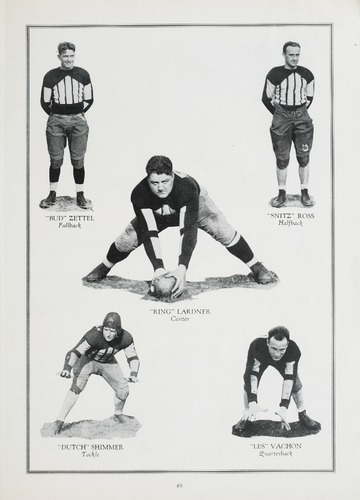 University of Detroit Football Collection: University of Detroit vs. Loyola Program