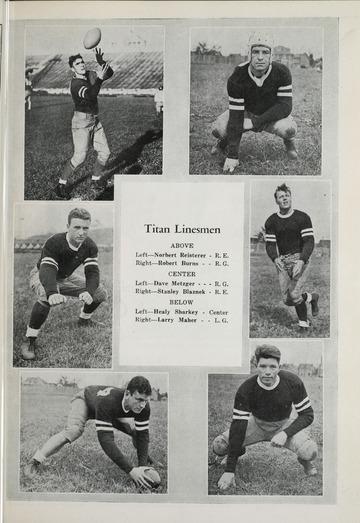 University of Detroit Football Collection: University of Detroit vs. Michigan State Normal Program