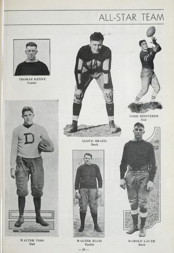 University of Detroit Football Collection: University of Detroit vs. Oklahoma Program