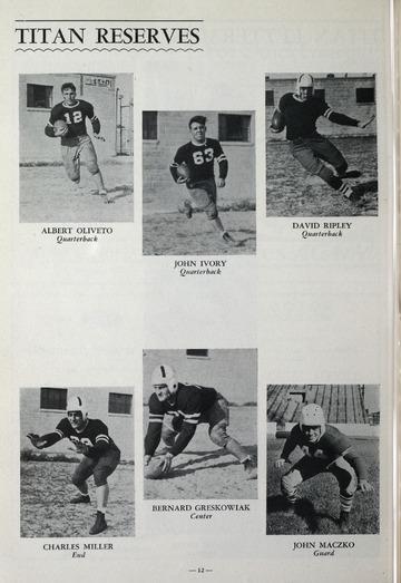 University of Detroit Football Collection: University of Detroit vs. North Dakota Program