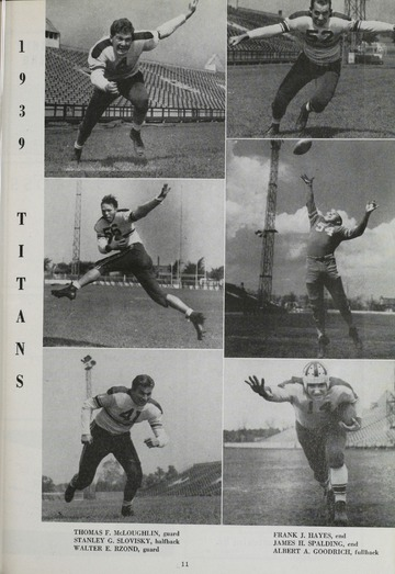 University of Detroit Football Collection: University of Detroit vs. Villanova College Program