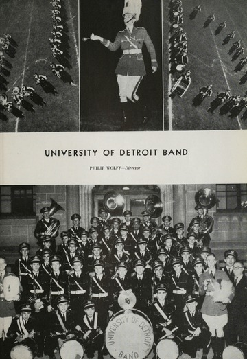 University of Detroit Football Collection: University of Detroit vs. Texas Christian University Program