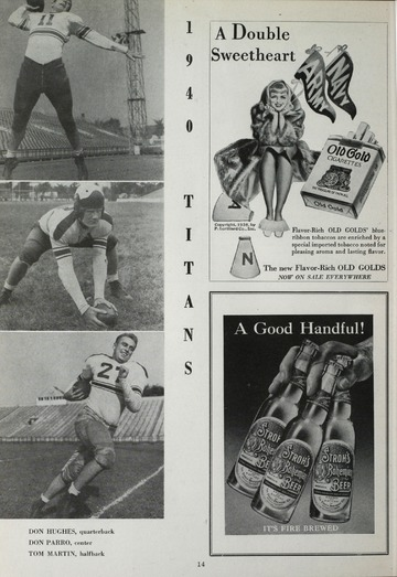 University of Detroit Football Collection: University of Detroit vs. Marquette University Program