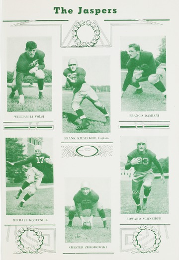 University of Detroit Football Collection: University of Detroit vs. Manhattan Program