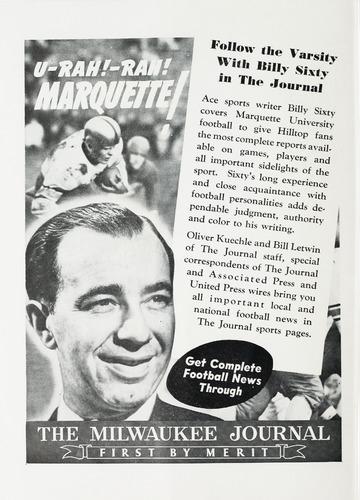 University of Detroit vs. Marquette Program