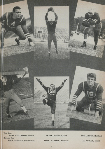 University of Detroit Football Collection: University of Detroit vs. Alma Program