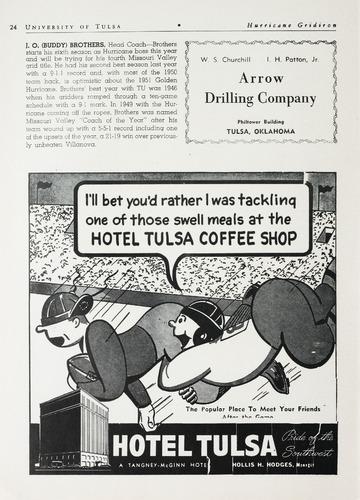 University of Detroit vs. University of Tulsa Program
