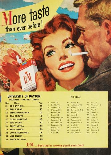 University of Detroit Football Collection: University of Detroit vs. Dayton Program