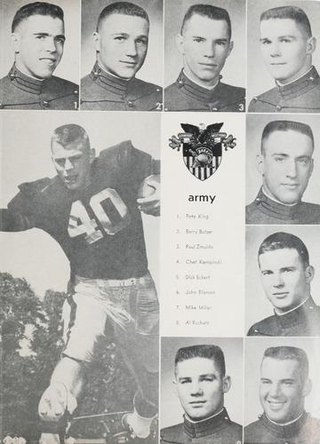 University of Detroit Football Collection: University of Detroit vs. Army