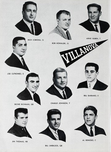 University of Detroit Football Collection: University of Detroit vs. Villanova
