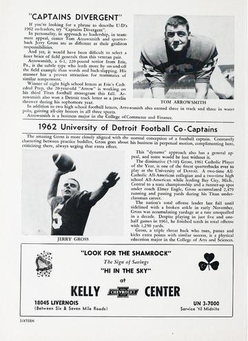 University of Detroit Football Collection: University of Detroit vs. Cincinnati