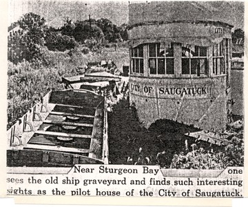 Fr. Edward J. Dowling, S.J. Marine Historical Collection: City of Saugatuck