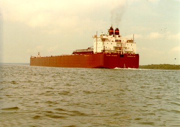 Fr. Edward J. Dowling, S.J. Marine Historical Collection: Stern view, St. Mary's River, early 1980s.