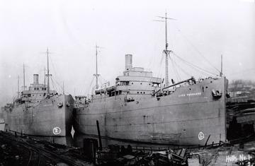 Fr. Edward J. Dowling, S.J. Marine Historical Collection: Lake Freeland