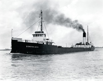 Fr. Edward J. Dowling, S.J. Marine Historical Collection: Zenith City - late 1930s appearance