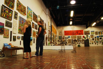 Maurice Greenia, Jr. Collections: People Looking at Maurice's Art