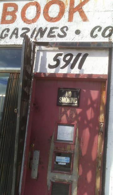 Door Shadow. Detroit, February 2016