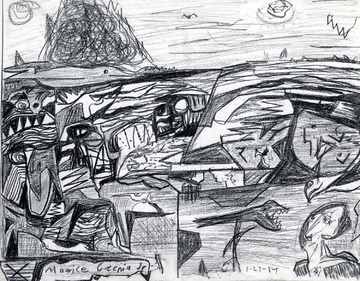 Maurice Greenia, Jr. Collections: Double Landscape, 1984