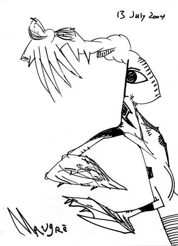Groping Figure, 2004