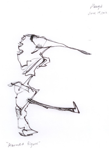 Maurice Greenia, Jr. Collections: Alarmed Figure