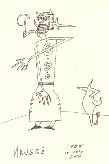 Maurice Greenia, Jr. Collections: Figure with Long, Skinny Arms