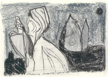 Maurice Greenia, Jr. Collections: Hooded Figure