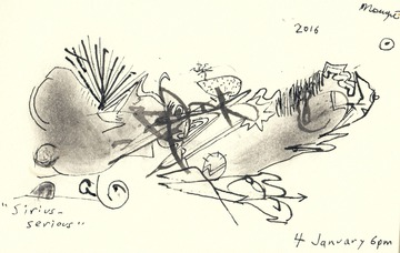 Maurice Greenia, Jr. Collections: Sirius-Serious aka Tangled Center