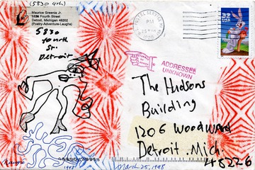 Maurice Greenia, Jr. Collections: Dead Letter #1