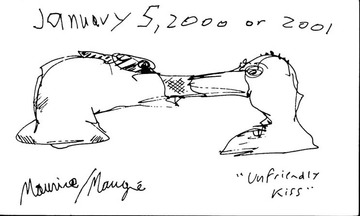 Maurice Greenia, Jr. Collections: Unfriendly Kiss