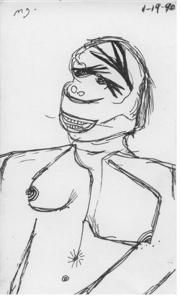 Maurice Greenia, Jr. Collections: Smiling Figure