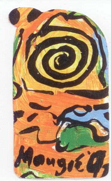 Maurice Greenia, Jr. Collections: Orange Area with Spiral