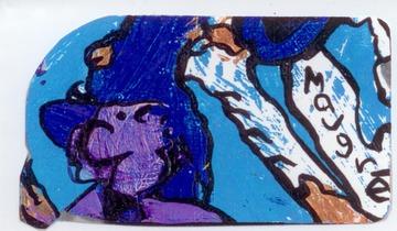 Maurice Greenia, Jr. Collections: Purple Man, for Mike Greenia