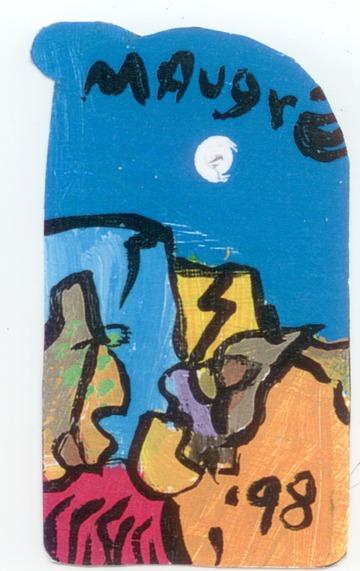 Maurice Greenia, Jr. Collections: Dark Blue Sky